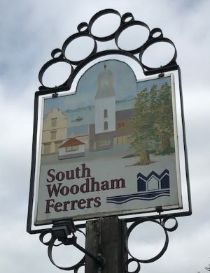 South Woodham Ferrers Sign